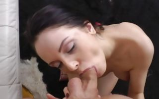 Teen babe Lexy Fox rubbing her clitoris while getting assfucked roughly