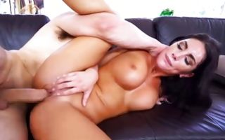 August Ames takes heavy knob in wet vagina